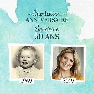 Faire Part Anniversaire 50 Ans : exemples de textes d 39 invitation anniversaire ~ Edinachiropracticcenter.com Idées de Décoration