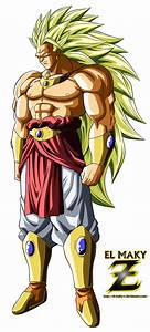 Broly Legendary Super Saiyan 3 Pictures to Pin on ...