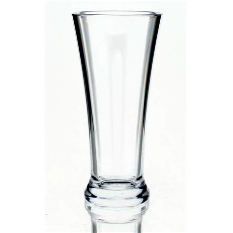 Plastic Barware by Strahl 415103 14 Oz Pilsner Glass Clear Poly Plastic