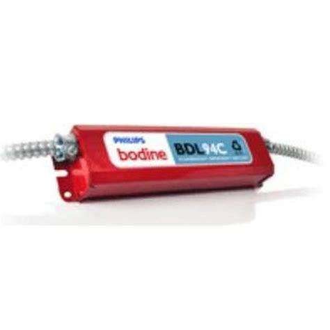 Bodine Bdlc Ballast Emergency Lighting