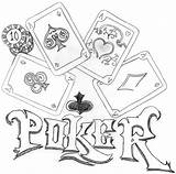 Poker Coloring Pages Printable Getcolorings Deviantart sketch template