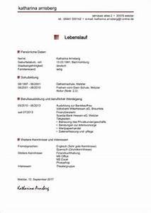 Lebenslauf Online Bewerbung : lebenslauf muster ~ Orissabook.com Haus und Dekorationen