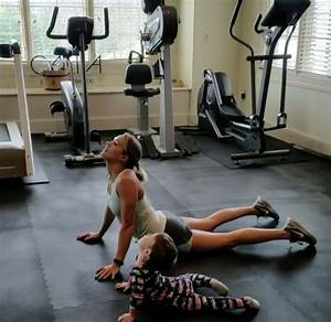 Carrie Underwood Works Out with New Gym Buddy: Her Son ...