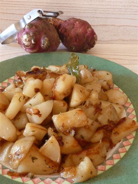 cuisine topinambour poêlée de topinambours blogs de cuisine