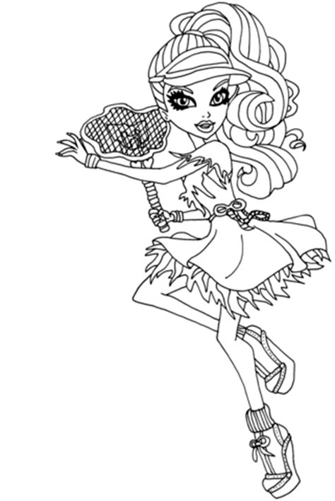 ghoul sports spectra vondergeist coloring page