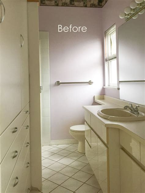 cream bathroom refresh   maria killam
