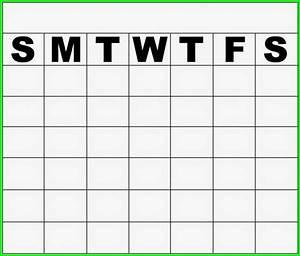 Saturday through friday calendar template calendar for Saturday to friday calendar template