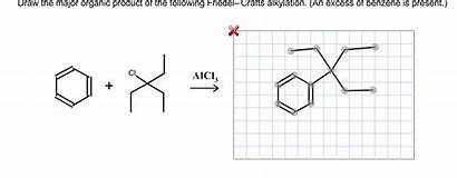 Organic Major Draw Following Alkylation Friedel Crafts