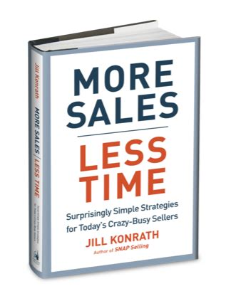 bestselling sales books  author jill konrath