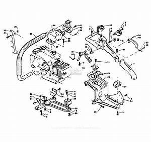 Echo Cs-452vl Parts Diagram For Handles S  N  023442