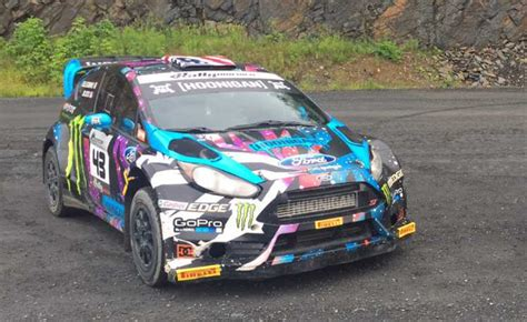 Ken Block Is Selling One Of His Ford Fiesta St Rally Race Cars