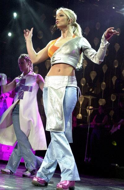 britney spears  performance outfits ranked glamour