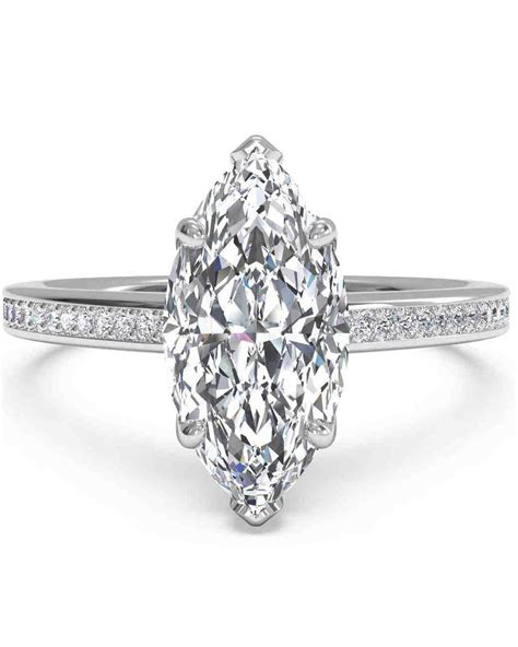 Marquisecut Diamond Engagement Rings  Martha Stewart. Selfish Wedding Rings. Dream Rings. Water Lily Engagement Rings. Hideous Engagement Rings. Cost Engagement Rings. Cracked Rings. $25 Engagement Rings. Nazgul Rings