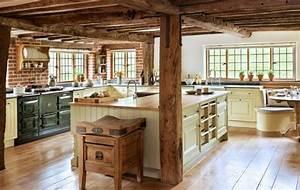 Küchen Ideen Landhaus : rustikale landhaus k chen einrichtung k chen k che einrichten k cheneinrichtung landhaus ~ Heinz-duthel.com Haus und Dekorationen