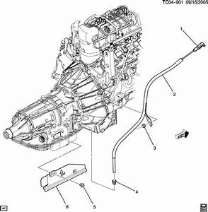 Diagram Of How A 2005 Hummer H2 Transmission Is Removed