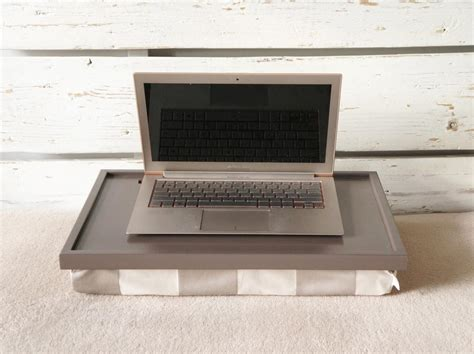 lap desk pillow for ipad ipad stand or laptop lap desk greyish brown tray with