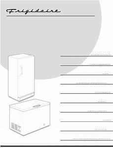 Frigidaire Freezer Ffc0522dw User Guide