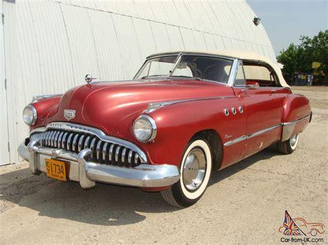 1949 Buick Super Convertible Good Driver. Texas
