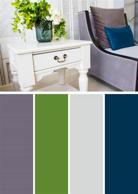 Purple Color Schemes For Bedrooms by Purple And Green Color Schemes For Bedrooms