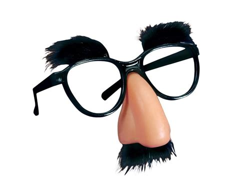 4 Groucho Marx Costume Funny Beagle Puss Eye Glasses Nose