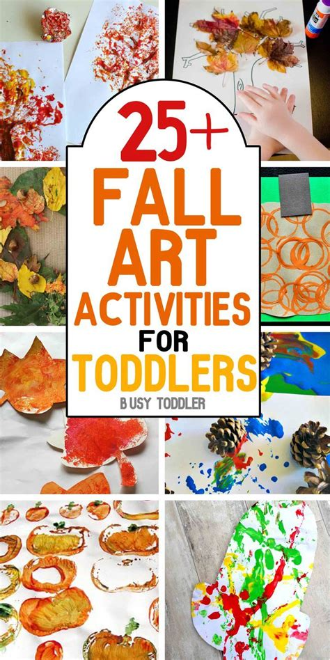 awesome fall activities  toddlers toddler