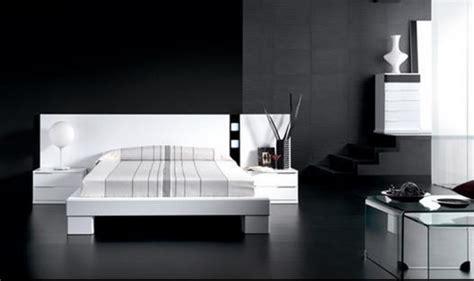 Ideas para decorar dormitorios blanco y negro