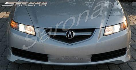 custom acura tl sedan front add  lip