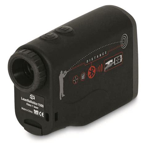 laser range finder bluetooth atn laserballistics 1500 laser range finder with bluetooth 699916 rangefinders at sportsman s