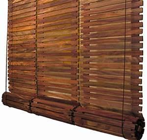Store Bois Exterieur : la maison de nos r ves store bois wooden shades ~ Premium-room.com Idées de Décoration