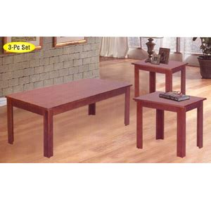 Coffee Table 3 Pc Coffee End Table Set 2163 A