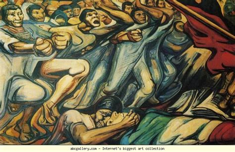 David Alfaro Siqueiros Murals by David Alfaro Siqueiros History Of The Theater And