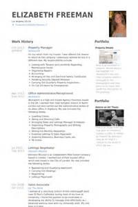 a advanced resume service inc property manager resume sles visualcv resume sles database