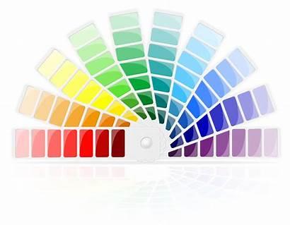 Palette Vector Illustration Wheels Related Vectors Clipart