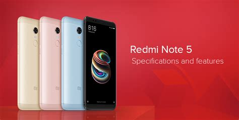 redmi note  specifications  features redmi note