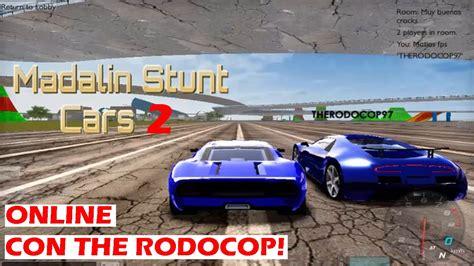Matias Juega Madalin Stunt Cars 2 (online Con The Rodocop