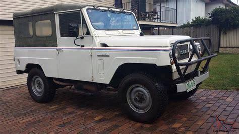 nissan patrol classic 1979 nissan datsun g60 patrol classic collectors item 4x4 drag