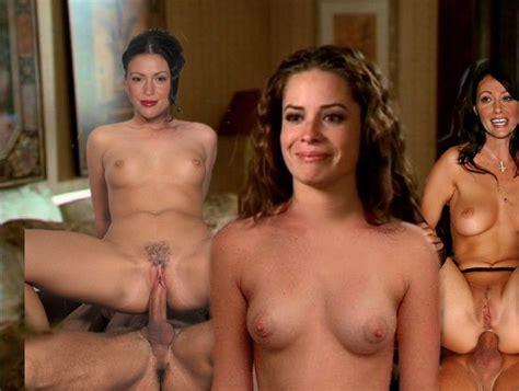 alyssa milano charmed nude fakes