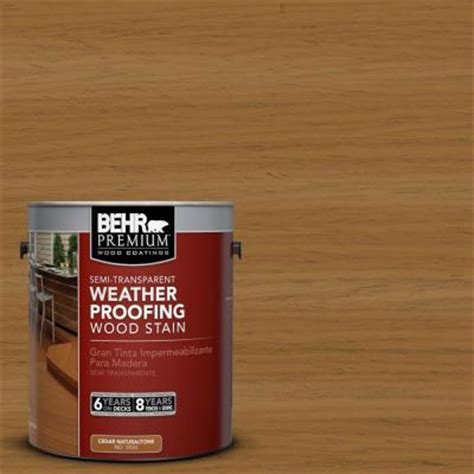 Behr Deck Home Depot by Behr Premium 1 Gal St 146 Cedar Semi Transparent