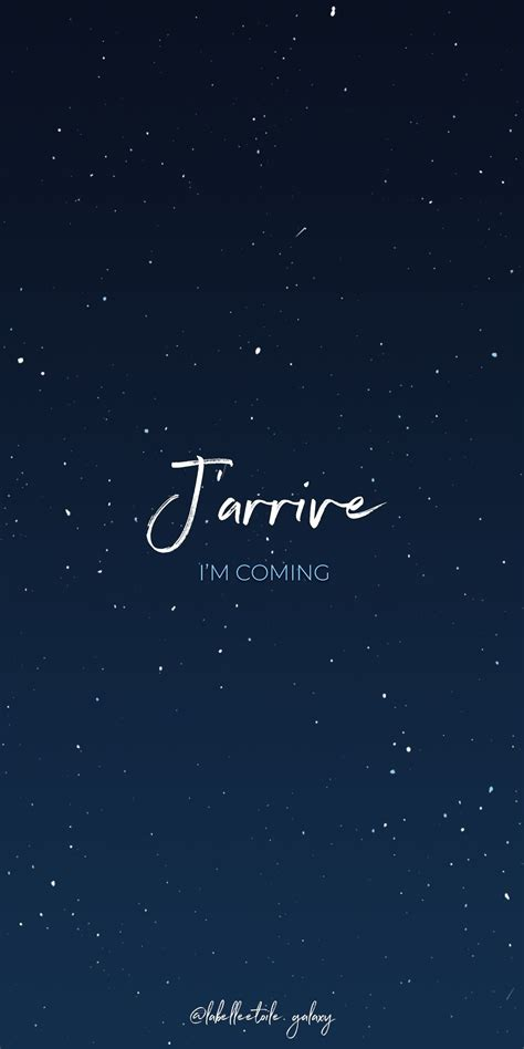 J'arrive I'm coming - Bonjour You are in the right pace to ...