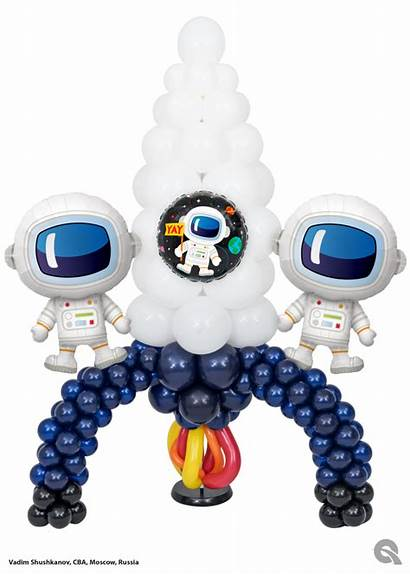 Space Balloon Party Birthday Astronaut Parties Outer