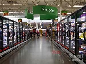 Walmart Supercenter Frozen Food Aisle Photograph by Ben ...