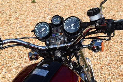 Suzuki Gt750a In Calypso Candy Red Motorcycle For Sale