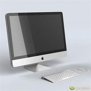 Apple iMac 27 Desktop Computer 3D Model .max .obj .fbx ...