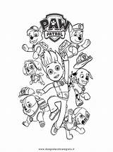 Paw sketch template