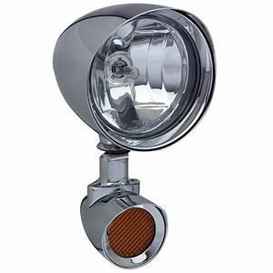 Headwinds  Chrome - Mariah Rocket - Light Kit  2 U0026quot  Spot  2 U0026quot  Turn  Pair