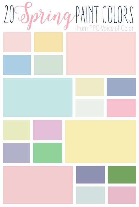 add spring to your space 20 fabulous spring paint colors