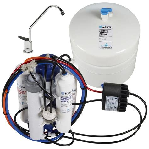 under sink pump system home master ultra with permeate pump under sink reverse