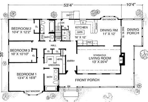 farmhouse style house plan beds baths sqft plan floor plan main floor