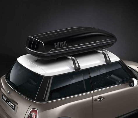 mini genuine roof box storage travel container black