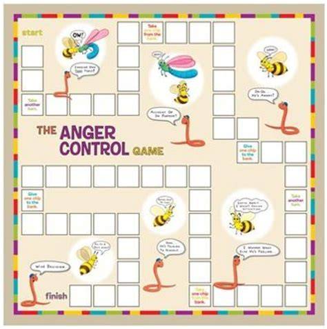 anger control game creativetherapystore